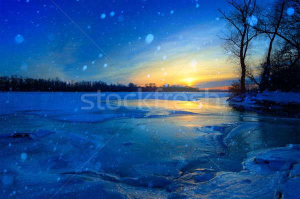 winter landscape Stock photo © Konstanttin