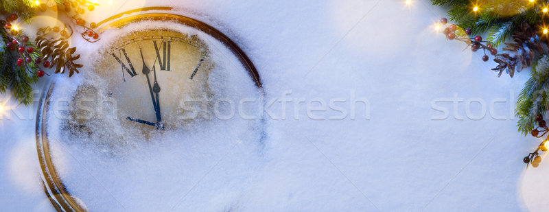 art Christmas and happy new years eve background Stock photo © Konstanttin
