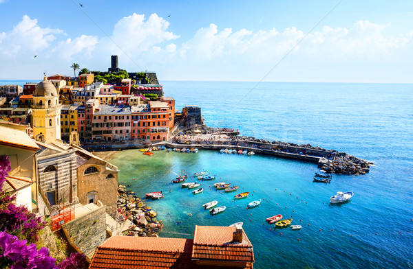art beautiful old town of Liguria Italy Europe.  Stock photo © Konstanttin