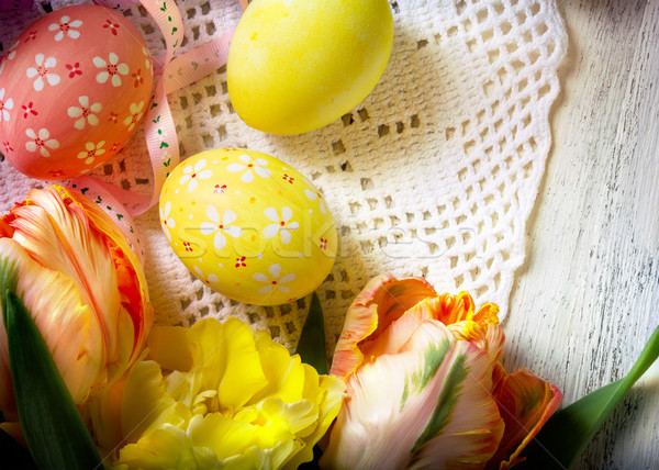 easter background Stock photo © Konstanttin