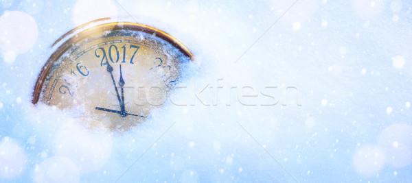 art 2017 happy new years eve background Stock photo © Konstanttin