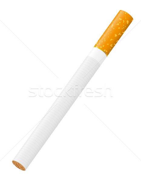 cigarette vector illustration Stock photo © konturvid