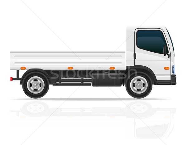 small truck for transportation cargo vector illustration Stock photo © konturvid