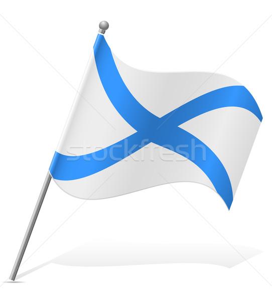 Bandeira escócia isolado branco globo mundo Foto stock © konturvid