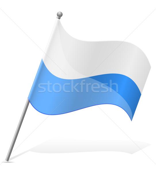 флаг Сан-Марино изолированный белый Мир Живопись Сток-фото © konturvid