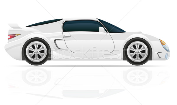 sport car vector illustration Stock photo © konturvid