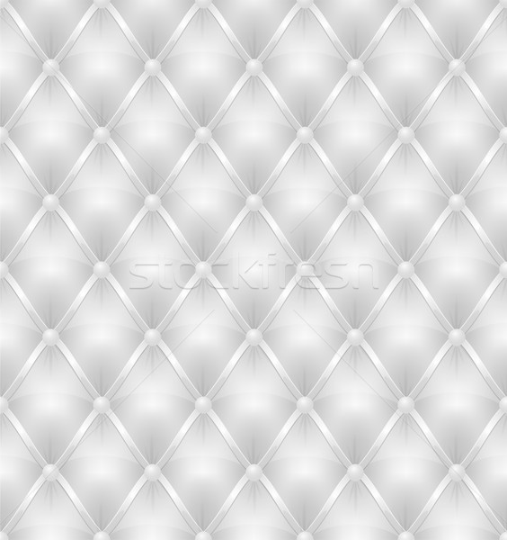 white leather upholstery seamless background Stock photo © konturvid