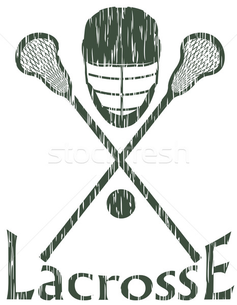 lacrosse sport concept vector illustration Stock photo © konturvid