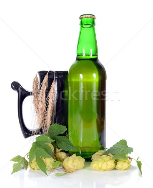 beer and hop Stock photo © konturvid