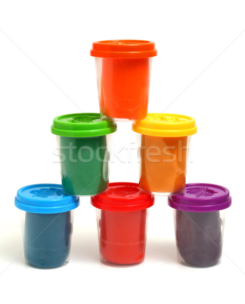 colors plasticine Stock photo © konturvid