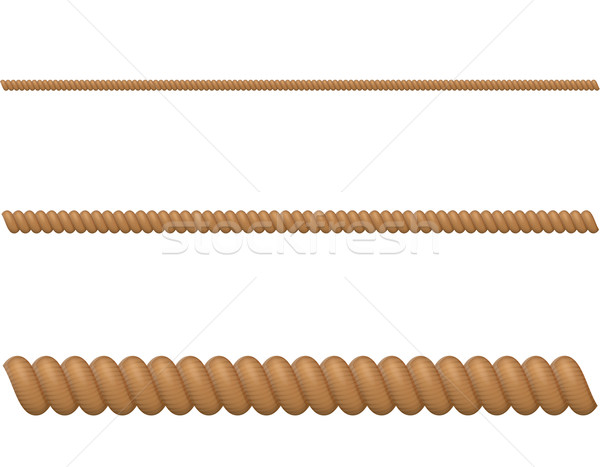 rope vector illustration Stock photo © konturvid
