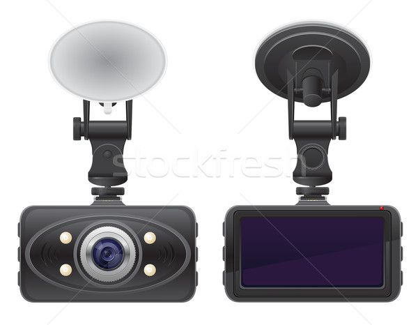 car recorder vector illustration Stock photo © konturvid