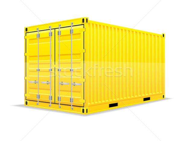 Fret contenant isol blanche voiture fond for Container isole