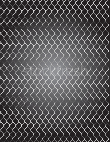 mesh wire for fencing vector Stock photo © konturvid