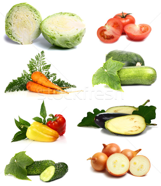 fresh and vitamins vegetables Stock photo © konturvid