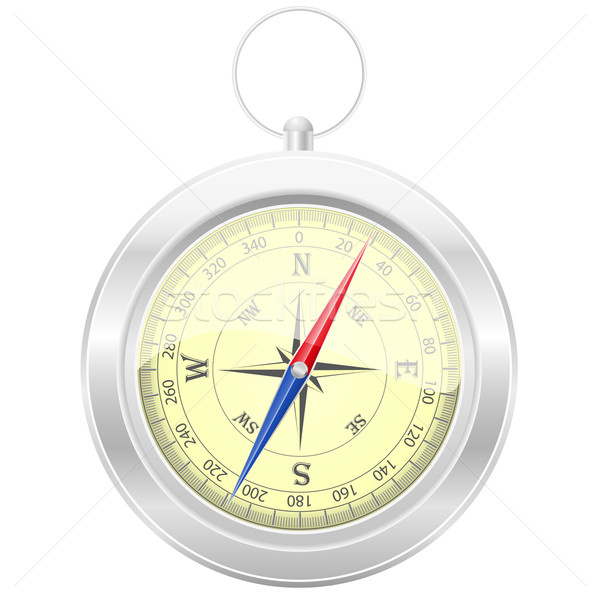 compass vector illustration Stock photo © konturvid