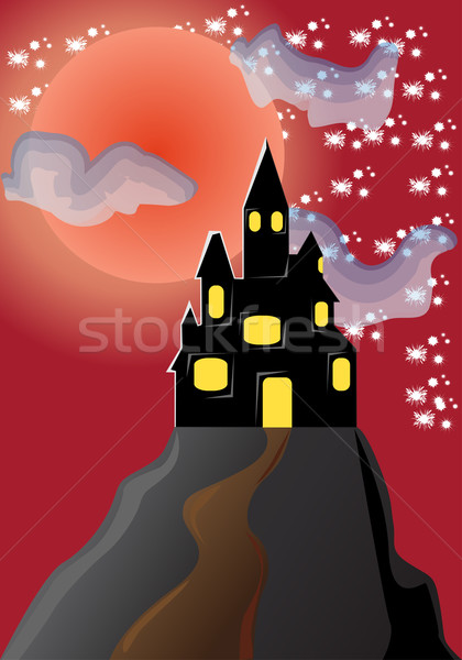 castle Stock photo © konturvid