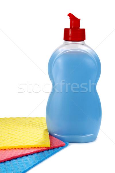 Stockfoto: Objecten · wassen · schoonmaken · omhoog · keuken · huis