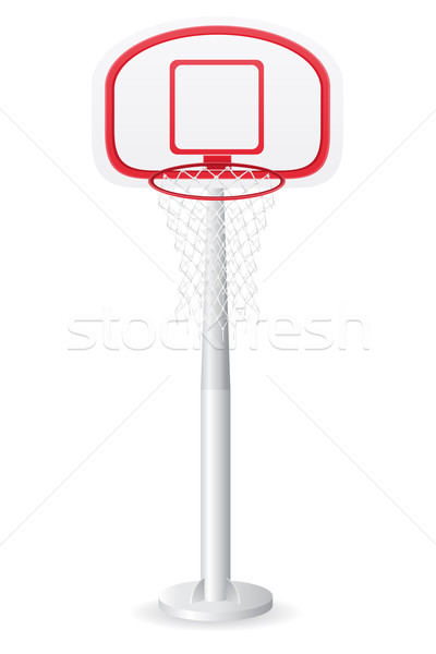 basketball backboard vector illustration Stock photo © konturvid