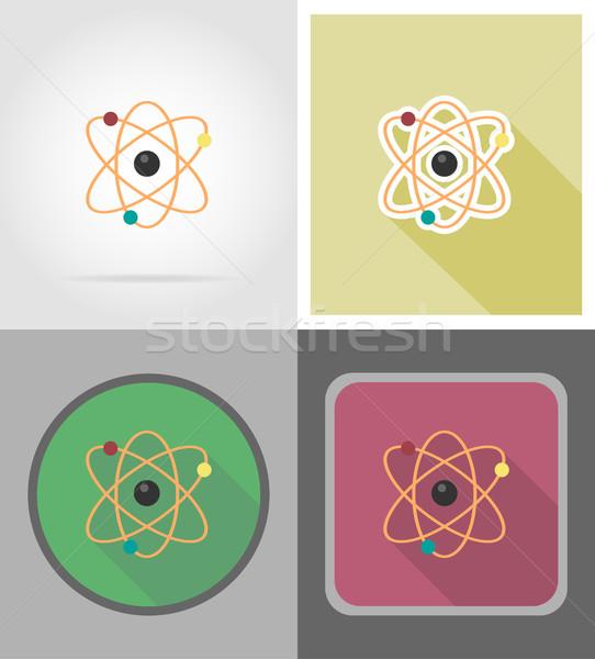 アイコン 孤立した デザイン 教育 携帯 室 ストックフォト © konturvid