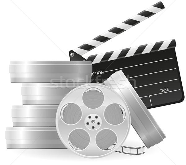 セット アイコン 映画撮影術 映画 映画 孤立した ストックフォト © konturvid