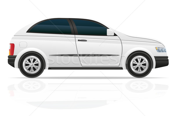 car hatchback vector illustration Stock photo © konturvid