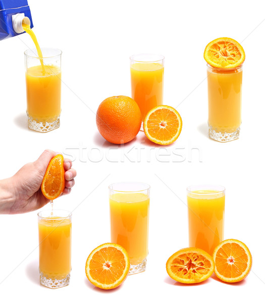 orange juice Stock photo © konturvid