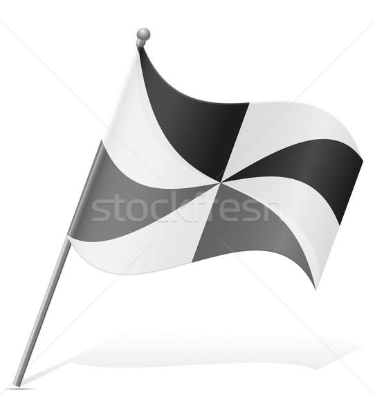 flag of Ceuta vector illustration Stock photo © konturvid