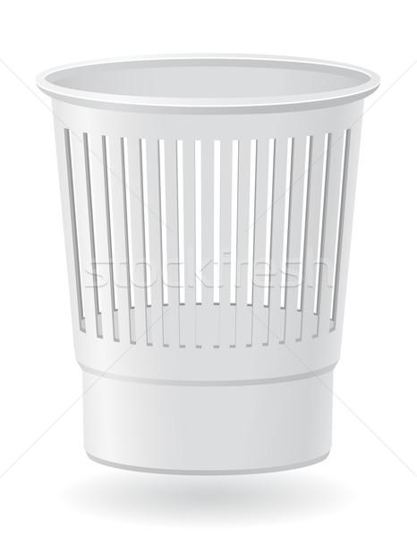 dustbin vector illustration Stock photo © konturvid