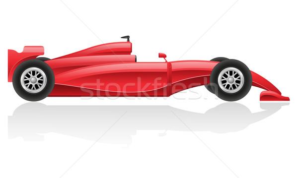 racing car vector illustration EPS 10 Stock photo © konturvid