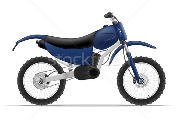 motorcycle vector illustration Stock photo © konturvid