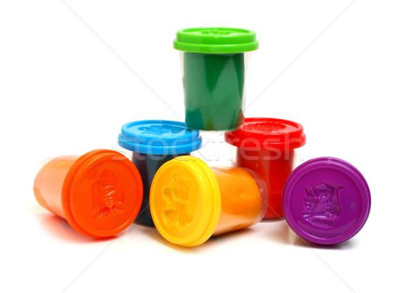 colors plasticine Stock photo © konturvid