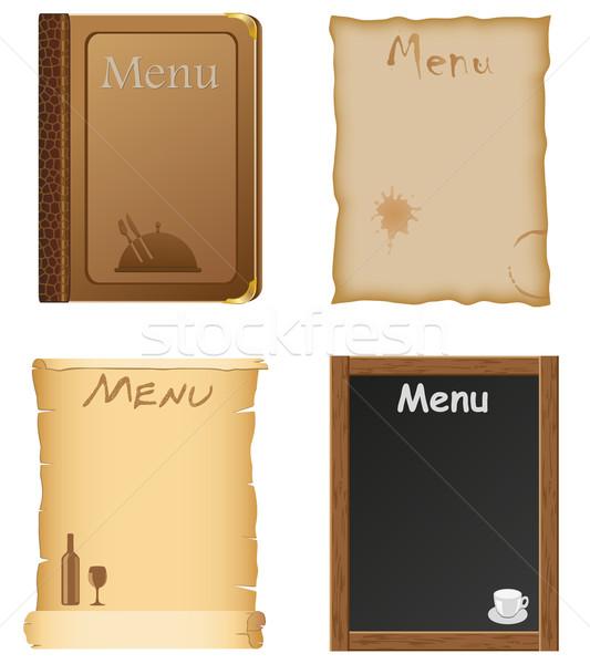 Как сделать меню из бумаги своими руками 21