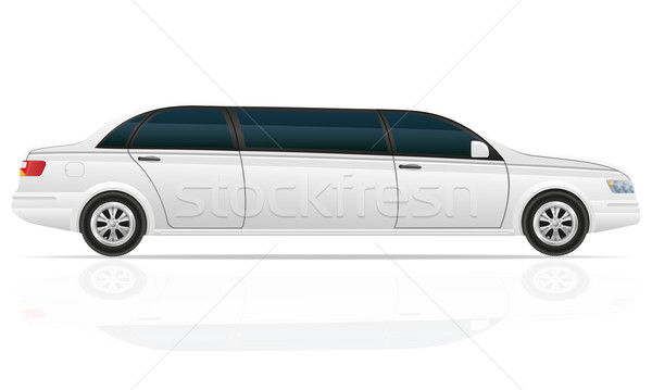 car limousine vector illustration Stock photo © konturvid