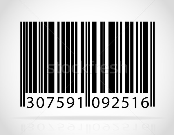 barcode vector illustration Stock photo © konturvid