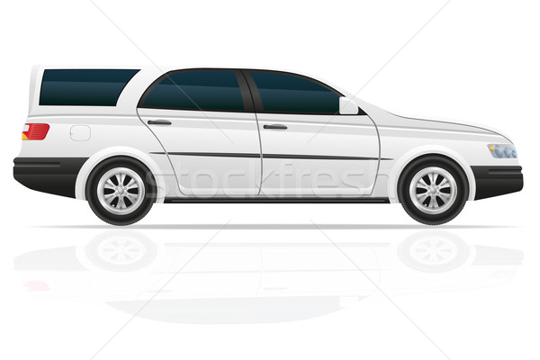 car touring vector illustration Stock photo © konturvid