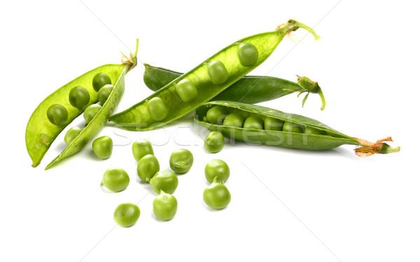 Photo stock: Vert · isolé · blanche · alimentaire · nature · été