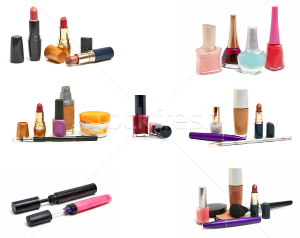 group cosmetics Stock photo © konturvid