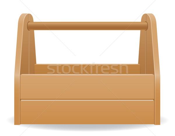 Caixa de ferramentas isolado branco fundo grupo Foto stock © konturvid