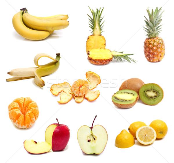 Frutas maduro isolado branco comida vermelho Foto stock © konturvid