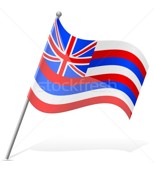 flag of Hawaii vector illustration Stock photo © konturvid