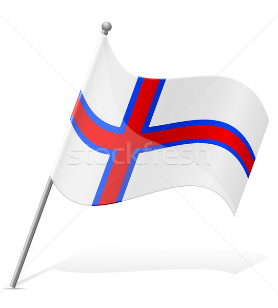 Bandeira isolado branco mundo terra Foto stock © konturvid