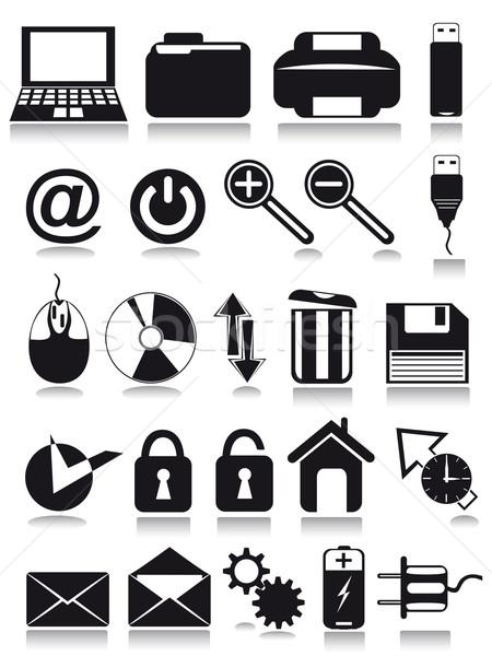internet web icons Stock photo © konturvid