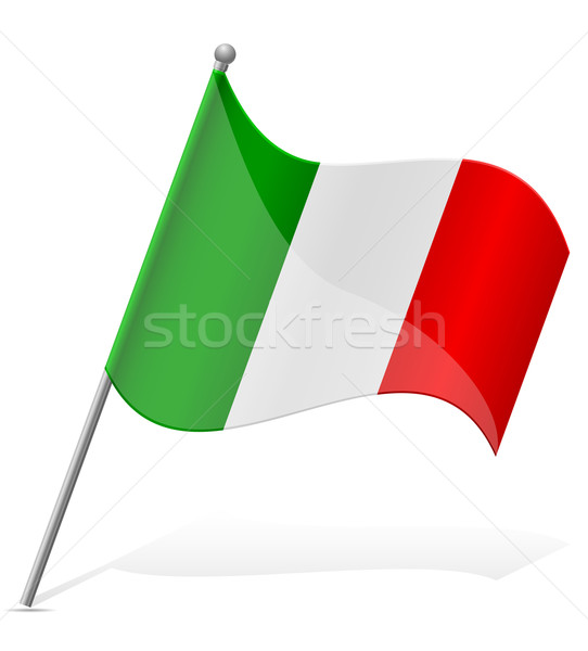 Bandeira México isolado branco globo mundo Foto stock © konturvid