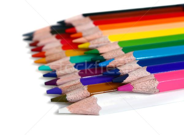 colors pencils Stock photo © konturvid