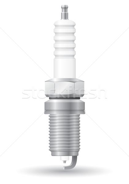 car spark vector illustration Stock photo © konturvid