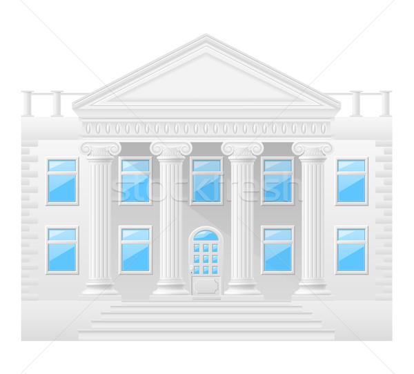 antique building stock vector illustration Stock photo © konturvid
