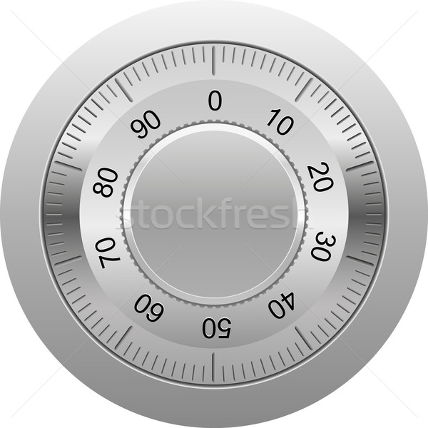 combination lock vector illustration Stock photo © konturvid