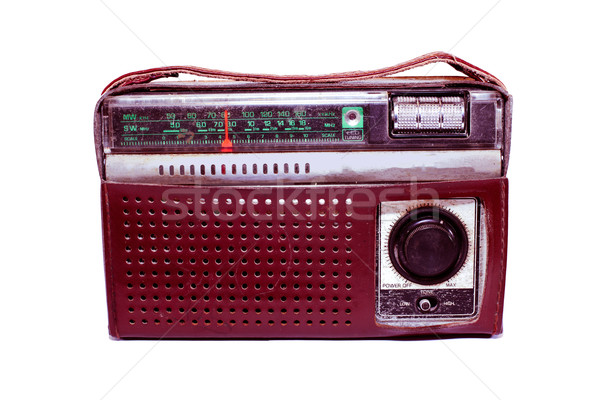 old portable radio Stock photo © koratmember