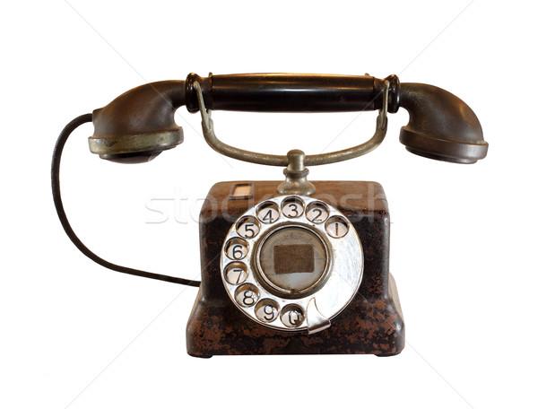 vintage telephone Stock photo © koratmember